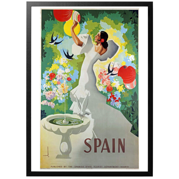 Spain Poster - World War Era