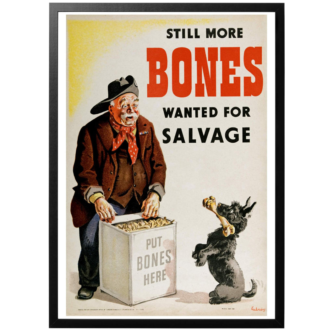 Still More Bones Wanted for Salvage Poster