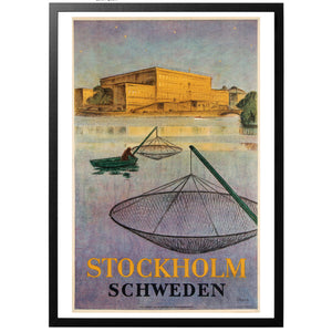 Stockholm Schweden Poster - World War Era