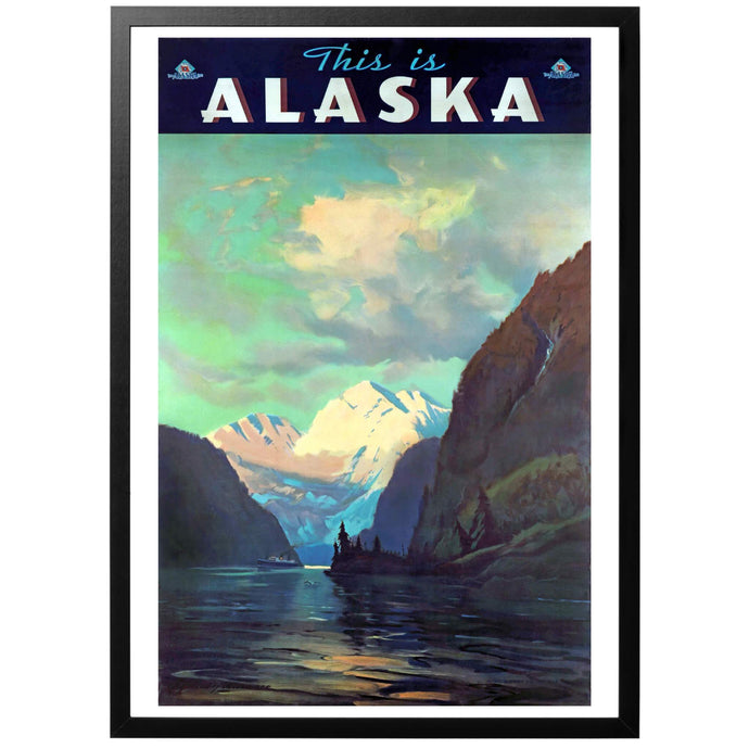 This is Alaska Poster - World War Era