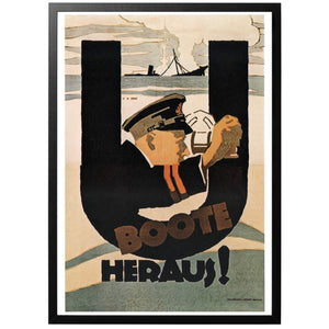 U-Boote Heraus Poster - World War Era