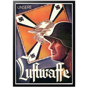 Unsere Luftwaffe Poster - World War Era