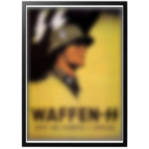 Waffen SS Poster - World War Era