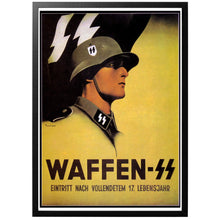 Load image into Gallery viewer, Waffen SS Poster - World War Era