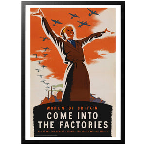 Women of Britain Poster - World War Era