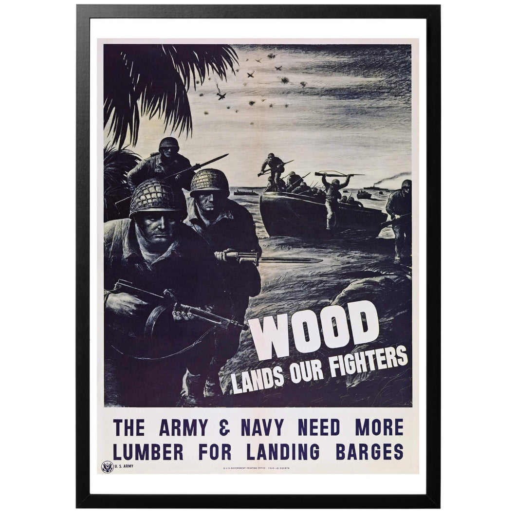 Wood lands our Fighters! Poster