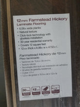 Load image into Gallery viewer, Farmstead Hickory Laminate Flooring
