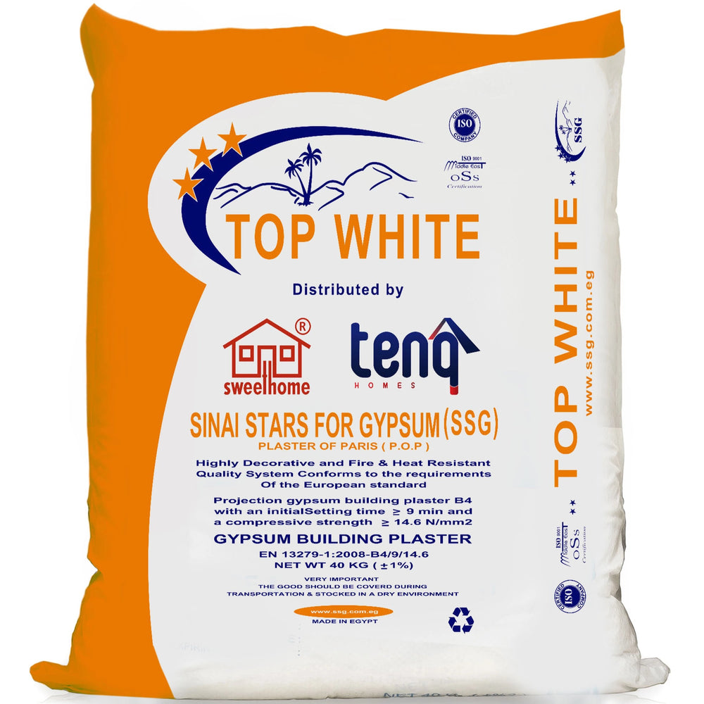 Top White Pop Cement Gypsum Plaster