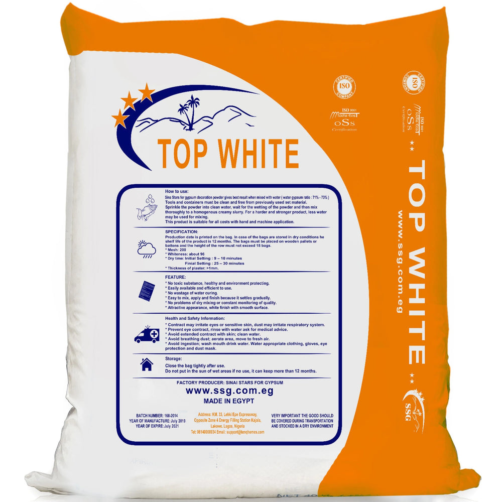 700 Bags Of Top White