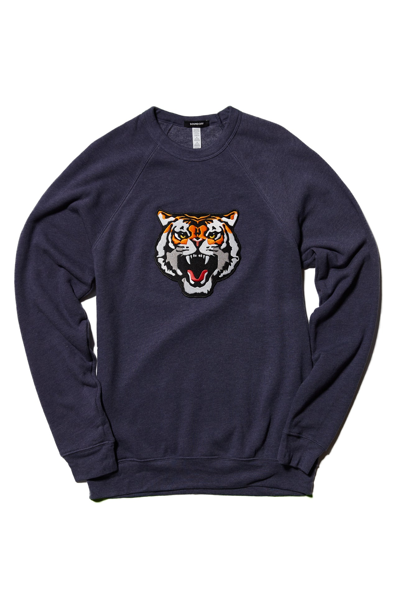 SAVAGE BEAST SWEATSHIRT; HEATHER NAVY