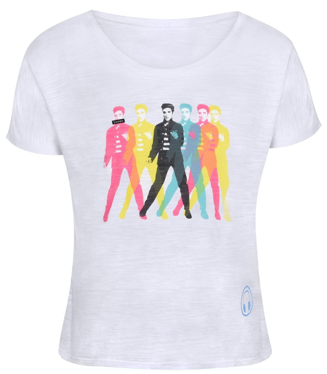 THE LOVER ELVIS Icon Slouchy T-shirt Women