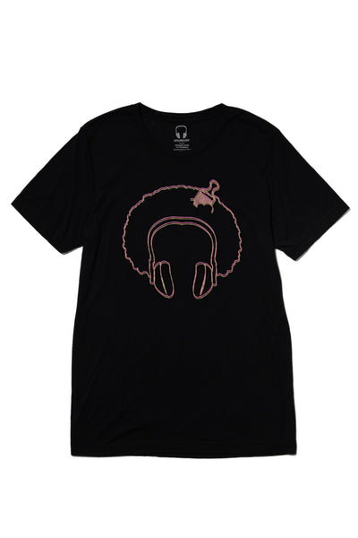 SOUL IDOL T-SHIRT; BLACK