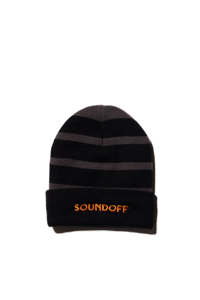 GOLD & MAROON EMBROIDERED SOUNDOFF BEANIE