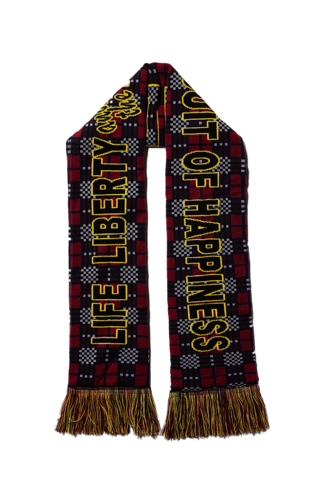 LIFE LIBERTY AND THE PURSUIT OF HAPPINESS STADIUM SCARF