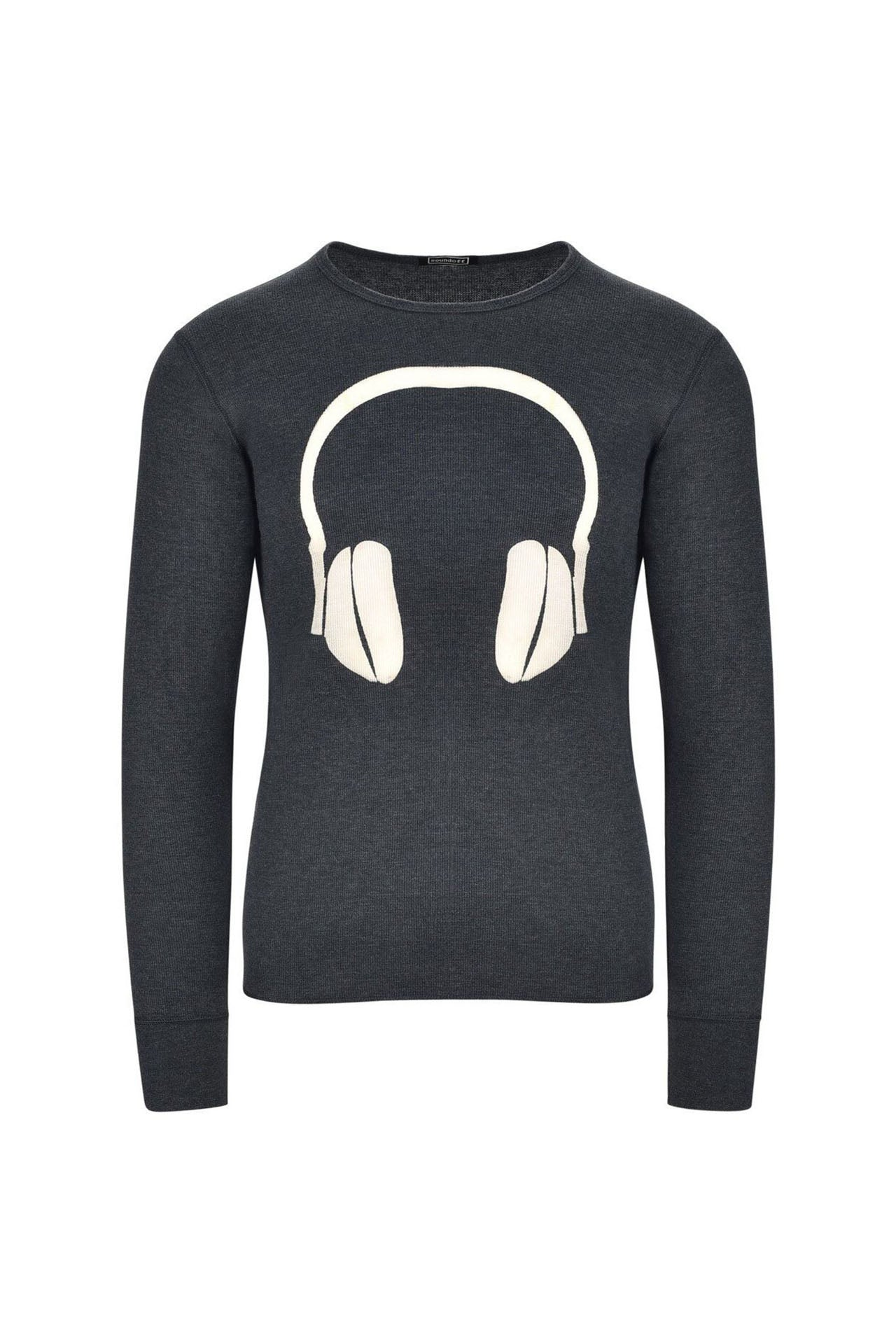 SOUNDOFF Headphone Logo Thermal Long Sleeve Shirt