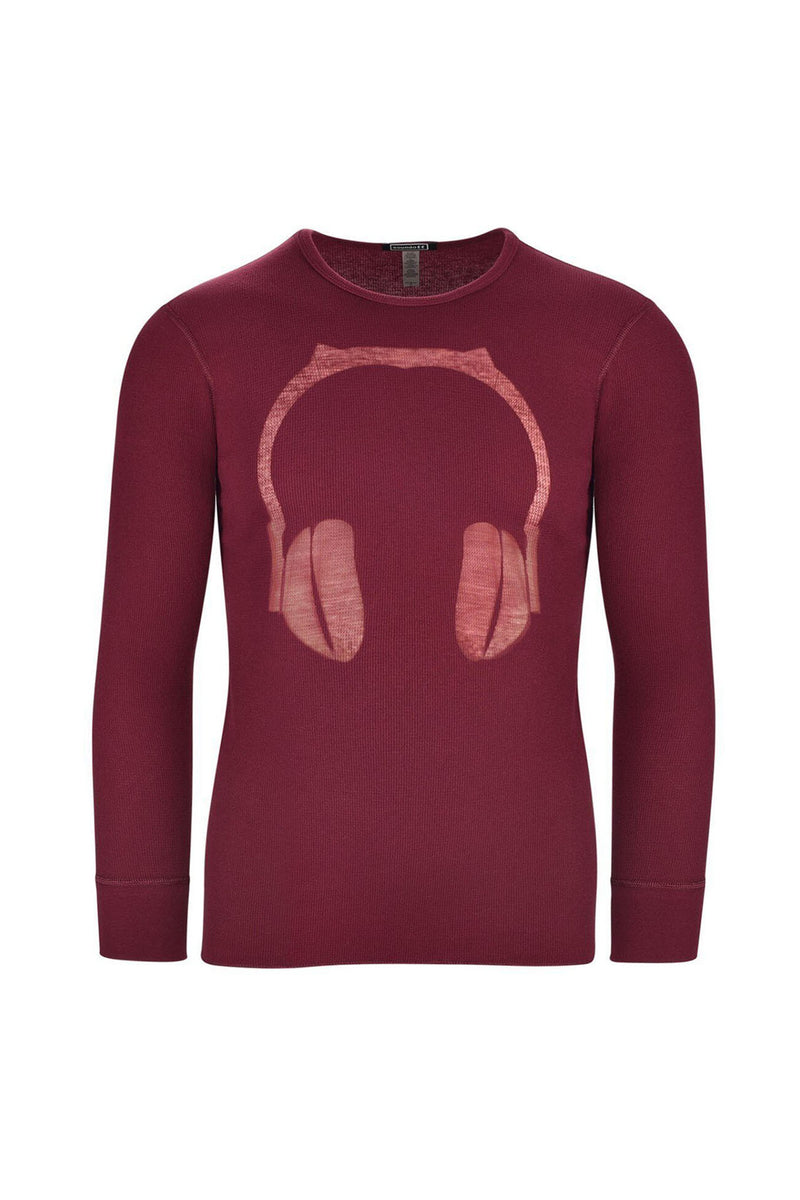 DAEMON Headphone Thermal Long Sleeve Shirt