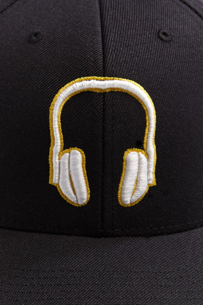 SOUNDOFF.HEADPHONES.DJ.SNAPBACK.HAT.