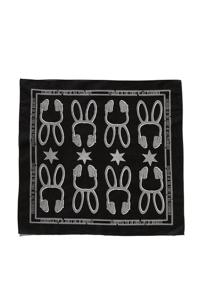 SOUNDOFF ILLUSIONIST BANDANA; BLACK