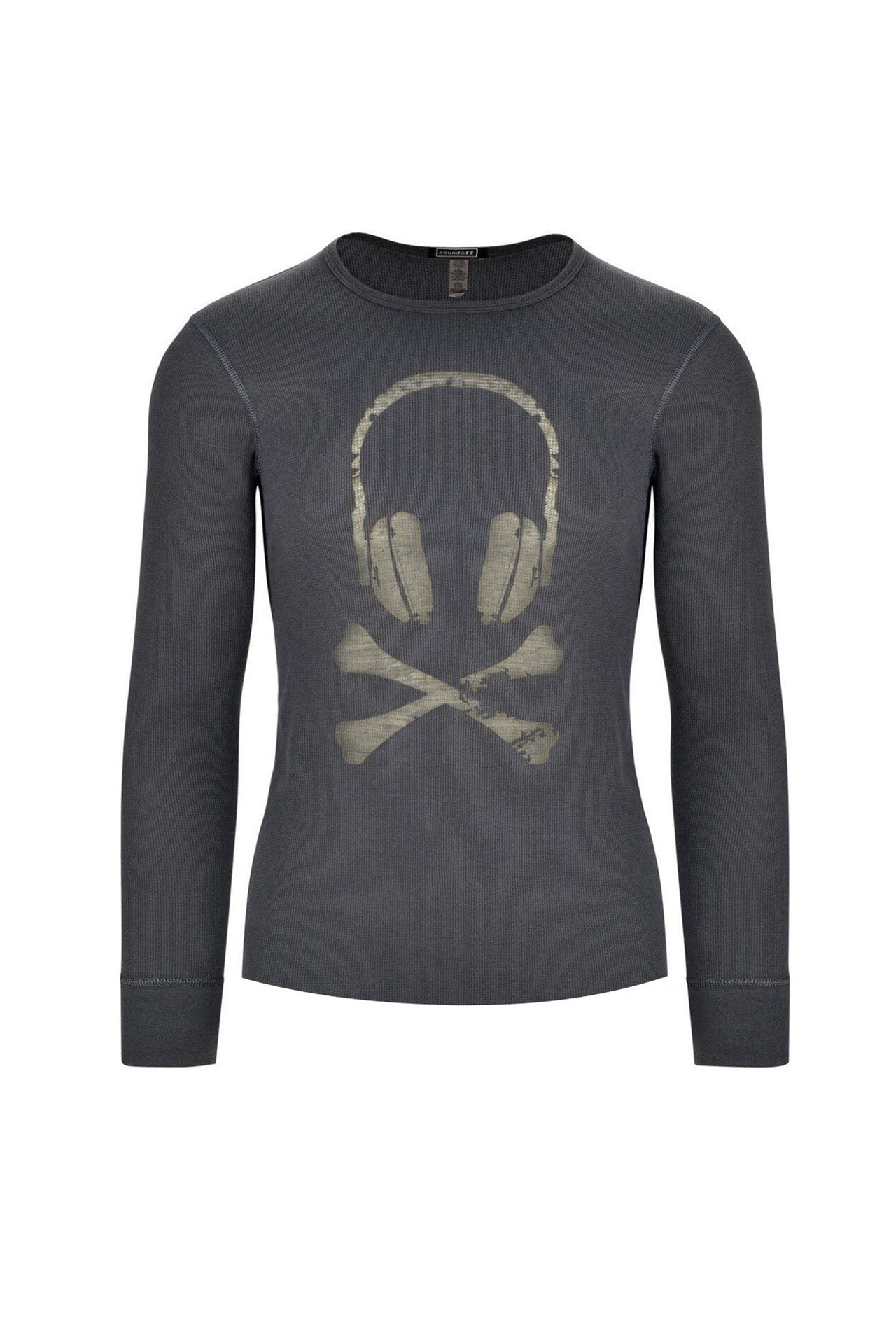 BADASS Headphone thermal long sleeve shirt
