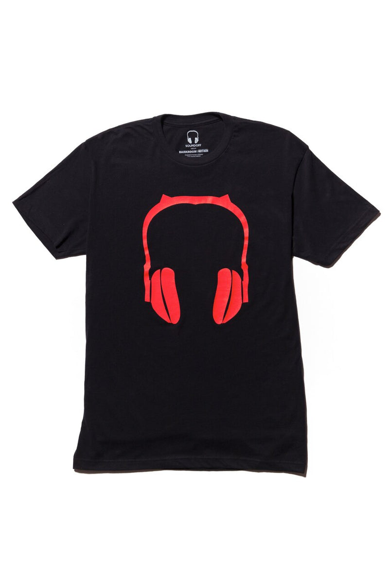 DARKROOM Demon Headphones T-shirt