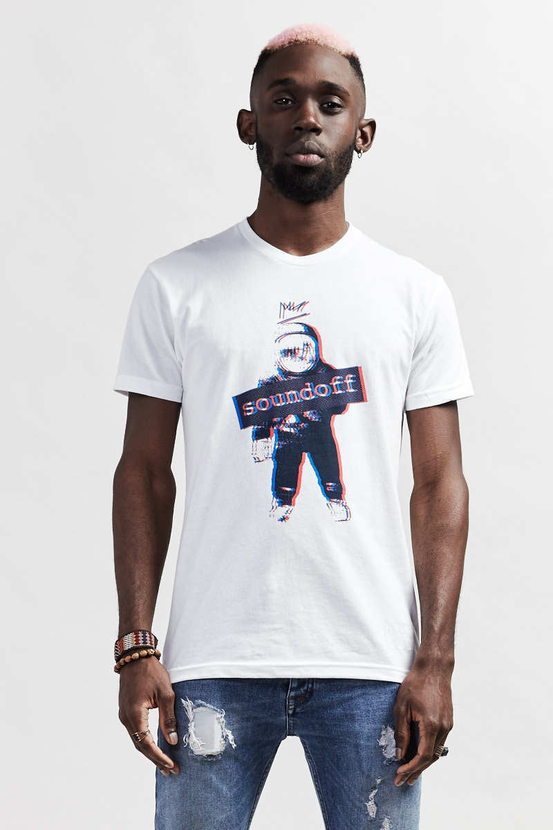 ROCKETMAN Icon T-Shirt - white