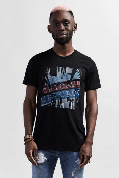 Downtown Chicago Backstage T-Shirt - black