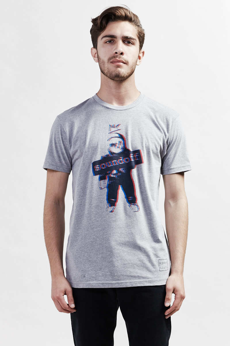 ROCKETMAN Icon T-Shirt - dark heather gray