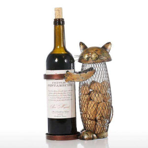 Cat Wine Stand - The Little Cart