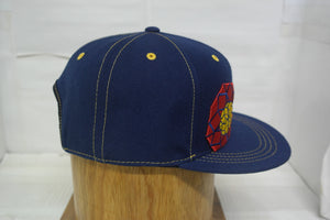 "Lucy Sky ""Throwback"" Hat - Navy Blue"