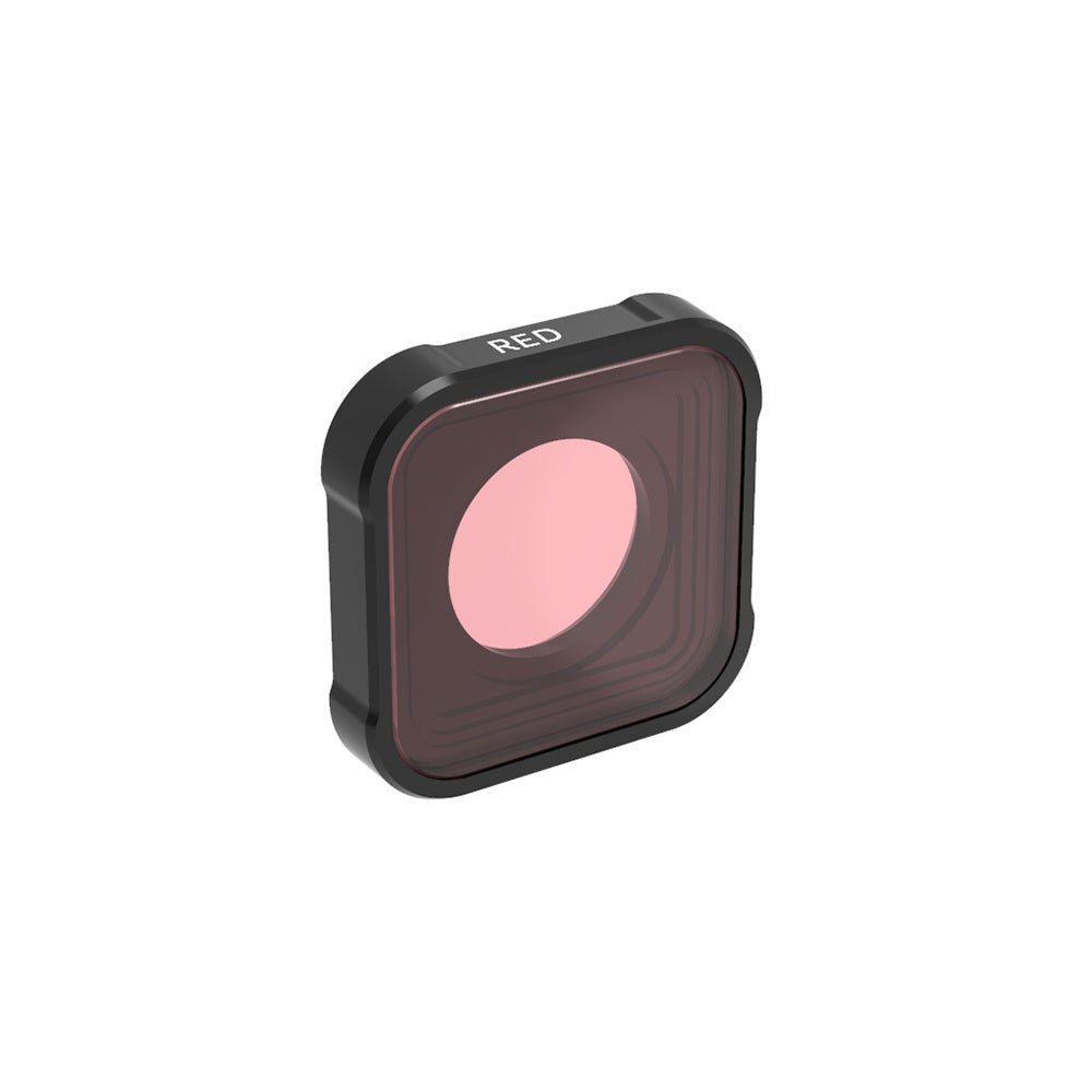 Underwater Diving Red / Pink / Magenta Filters for GoPro Hero 9 Black (Fits in the Diving Waterproof Housing Case) (Directly Replace The Standard Protective Lens On Your Camera)