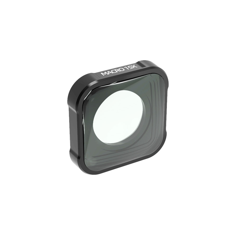 QKOO 15X Macro Lens for GoPro Hero 9 Black Sport Action Camera Close Up Zoom Lens Filter for HERO9 Black (Directly Replace The Standard Protective Lens On Your Camera)