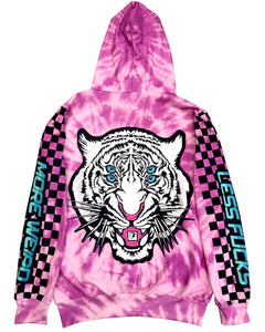 WHITE TIGER HOODIE - Electrik Unicorn