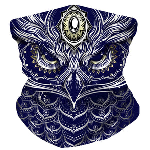 THIS OWL LIT facemask - Electrik