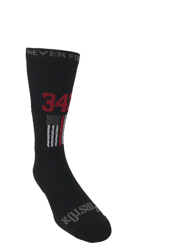 Never Forget: 343 Crew Sock