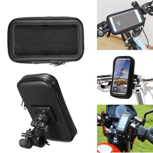 Waterproof Scooter Phone Case Holder