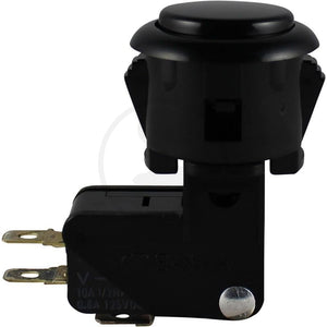 Pushbutton - Sanwa OBS-24A Black
