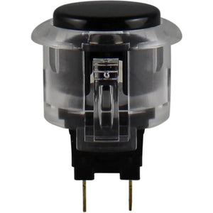 Pushbutton - Sanwa OBSC-24-CWX Clear Black