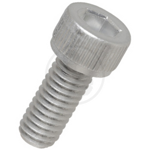 Bolt Hexagonal - Aluminium (White Alumite) M3~M5 10Pcs