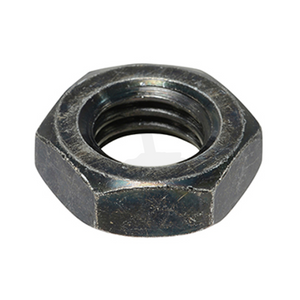 Thin Hex Nut - Steel Black Chrome
