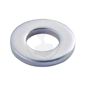 Flat Washer - Steel Chrome