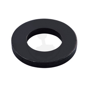Flat Washer - Steel Black
