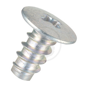 Low Head Screw Self Tapping - Steel Chrome