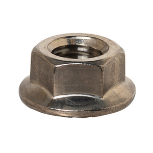 Hex Nut - Flange Nut - Serrated Stainless Steel