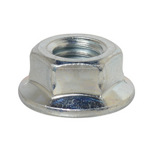 Hex Nut - Flange Nut - Serrated Steel Chrome