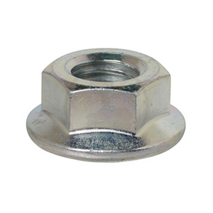 Hexagonal Nut Flange Steel (Trivalent Chromate) M3~M8 - 10Pcs