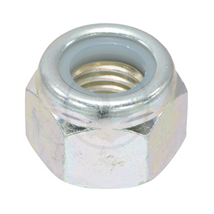 Hex Nut - Steel Chrome Nylon Insert