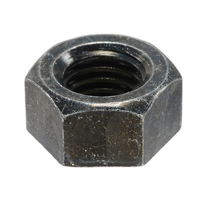 Hex Nut - Steel Black