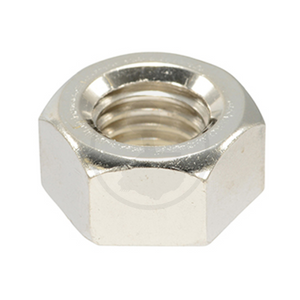 Hex Nut - Steel (Nickel Plating)
