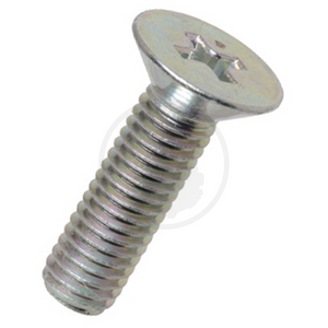 Countersunk Screw - Steel Chrome