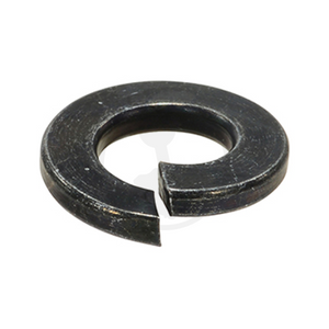 Split Washer - Steel Chrome Black